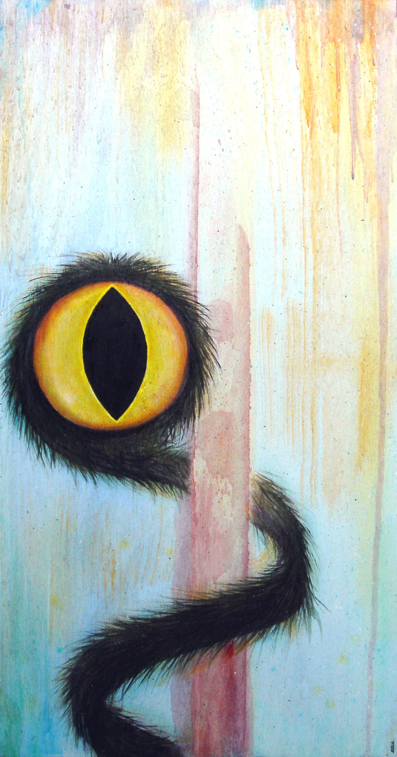 fuzzy-cat-eye-snake-worm